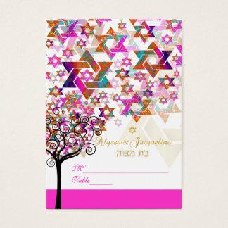 PixDezines Mitzvah Place Cards/Tree of Life