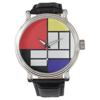 PixDezines Mondrian Art Watch