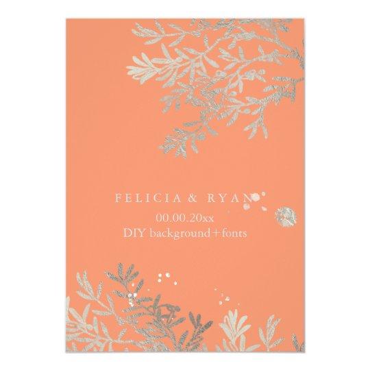 PixDezines Olive Branches/Faux Silver/DIY Bckgrnd Card