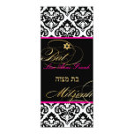 PixDezines olivia damask, Bat Mitzvah/ DIY colour 10 Cm X 24 Cm Invitation Card