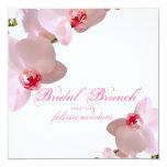 PixDezines orchids/phalaenopsis/DIY background 13 Cm X 13 Cm Square Invitation Card