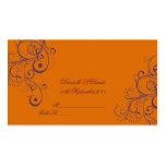 PixDezines Ornament Flourish Swirls place cards