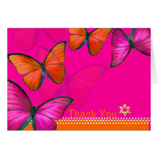 PixDezines Papillon, Thank You Card