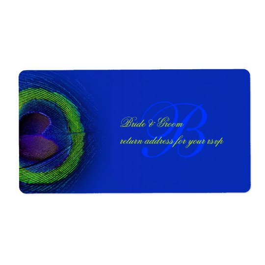PixDezines peacock eye cobalt blue