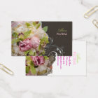 PixDezines peonies bouquets/diy background Business Card