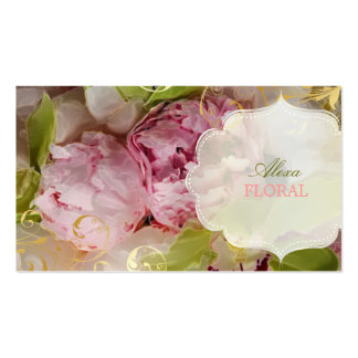 PixDezines peonies bouquets/diy background Pack Of Standard Business Cards