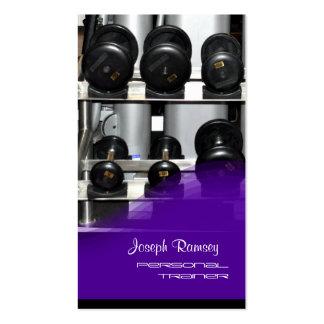 PixDezines Personal Trainer Business Card