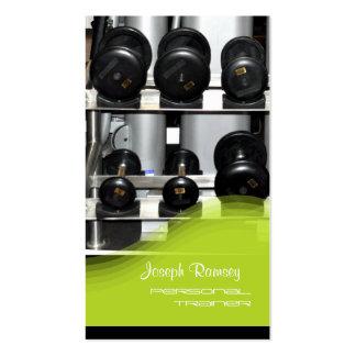PixDezines Personal Trainer Business Cards