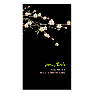 PixDezines pink cherry tree trimmers ♥♥♥ Business Card Templates