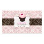 PixDezines pink heart cupcake+celine damask