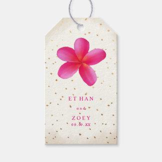 PixDezines Pink Plumeria/Floral/Thank You