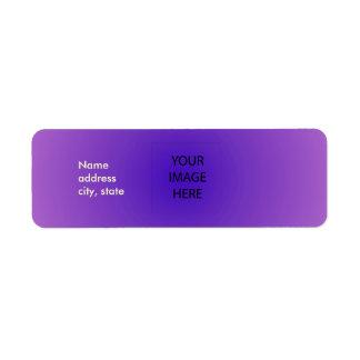 PixDezines Plain Lavender Easy Template Return Address Label