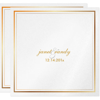 PixDezines plain metallic/diy background color 13 Cm X 13 Cm Square Invitation Card