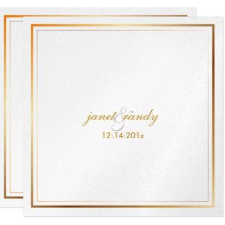 PixDezines plain metallic/diy background color 13 Cm X 13 Cm Square Invitation Card