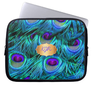 PixDezines Psychedelic Peacock Laptop Sleeve