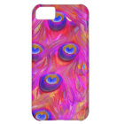 PixDezines psychedelic pink peacock feather iPhone 5C Case
