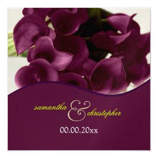 PixDezines purple calla lilies/diy Card