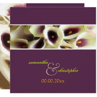 PixDezines purple calla lilies/diy color Card