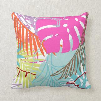 PixDezines rainforest/diy background colors Throw Pillows