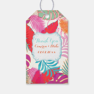 PixDezines Rainforest/Hawaii/Foliage Gift Tags