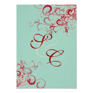 PixDezines Red Swirls/DIY BACKGROUND Card