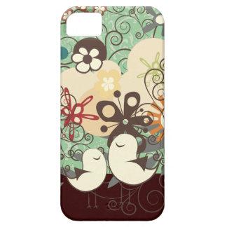 PixDezines Retro Chicks/DIY background color Case For The iPhone 5