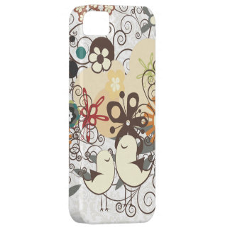 PixDezines Retro Chicks/DIY background color iPhone 5 Cover