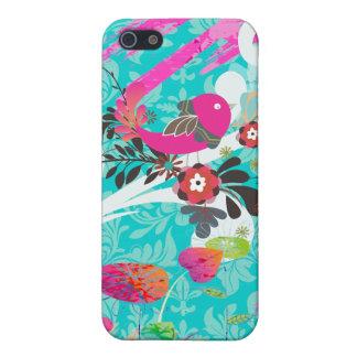 PixDezines Retro Chicks/love/DIY black background iPhone 5 Cases