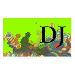 PixDezines Retro DJ Pack Of Standard Business Cards