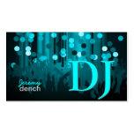 PixDezines Retro DJ+dance hall Pack Of Standard Business Cards