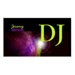 PixDezines Retro DJ+disco tiles Pack Of Standard Business Cards