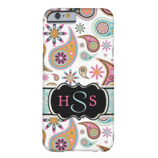 PixDezines retro paisley/DIY background Barely There iPhone 6 Case