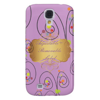 PixDezines Retro Spring Bouquets Galaxy S4 Case