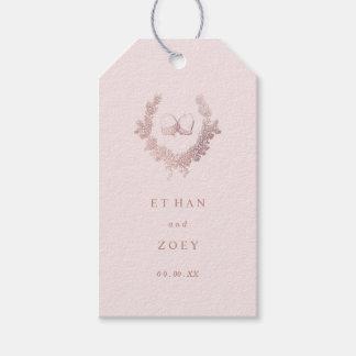 PixDezines Rose Gold Wreath/Acorn/DIY Background