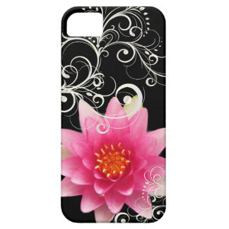 PixDezines rose water lily/diy background color Barely There iPhone 5 Case
