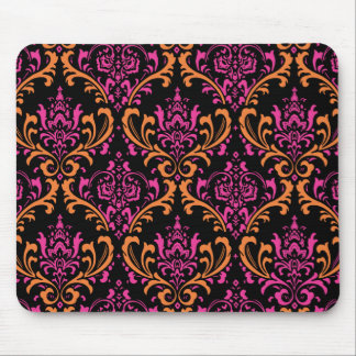 PixDezines Rossi Damask DIY background Mouse Pads