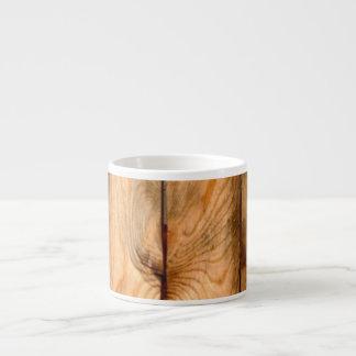 PixDezines rustic wood panels Espresso Mug