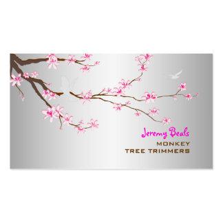 PixDezines sakura/pink cherry tree trimmers ♥♥♥ Business Card Template