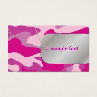 PixDezines Sassy Pink Camo+Dog Tags
