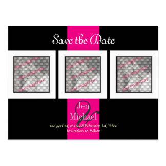 PixDezines save the date photo frames/DIY colors Postcard