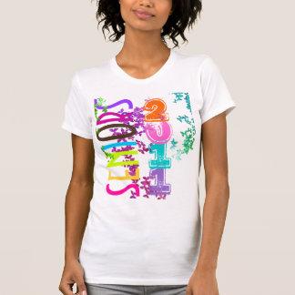 PixDezines Seniors 2011+Butterflies T-Shirt