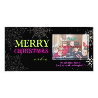PixDezines Snowflakes, christmas, DIY colors.. Card