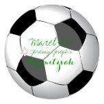 PixDezines soccer bar mitzvah/DIY colour Personalised Invite