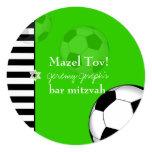 PixDezines soccer bar mitzvah/DIY colour Custom Invites