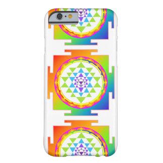 PixDezines Sri Yantra/Mandala/Rainbow Barely There iPhone 6 Case