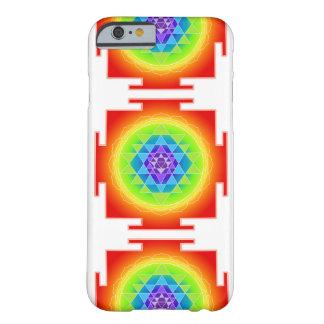 PixDezines Sri Yantra/Mandala/Red Barely There iPhone 6 Case