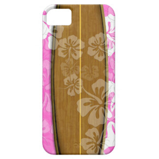 PixDezines surf board+hibiscus/diy background iPhone 5 Covers