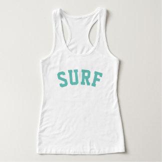 PixDezines SURF/CORAL/DIY TYPOGRAPHY Tank Top