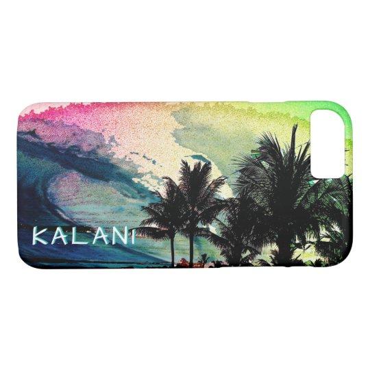 PixDezines  Surfs Up/Hawaii/Waves iPhone 8/7 Case
