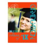 PixDezines Swirls, 2011 Graduation, Custom Colour Personalized Announcements